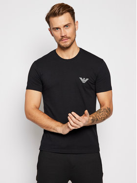 Emporio Armani Underwear Emporio Armani Underwear Tricou 110853 0A524 20 Negru Regular Fit