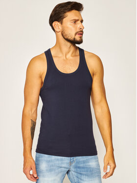 Dsquared2 Underwear Dsquared2 Underwear Tank top D9D203000 Σκούρο μπλε Slim Fit