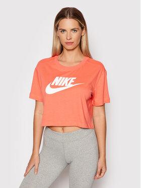 Nike Nike Marškinėliai BV6175 Rožinė Loose Fit