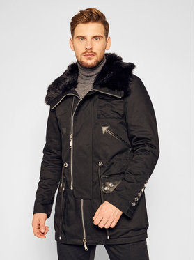 Rage Age Rage Age Parka Black Shadow Čierna Regular Fit
