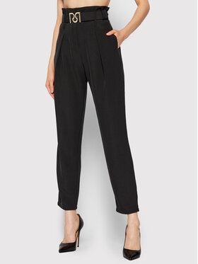 Rinascimento Rinascimento Текстилни панталони CFC0105002003 Черен Regular Fit
