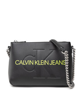 Calvin Klein Jeans Calvin Klein Jeans Kabelka Sculpted Camera Pouch W/Cha Mono K60K608688 Čierna