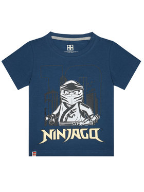 LEGO Wear LEGO Wear T-Shirt 12010211 Σκούρο μπλε Regular Fit