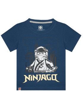 LEGO Wear LEGO Wear T-shirt 12010211 Tamnoplava Regular Fit