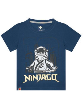 LEGO Wear LEGO Wear Tricou 12010211 Bleumarin Regular Fit