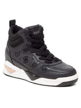 Guess Guess Sneakersy Dense FL7DEN FAL12 Čierna