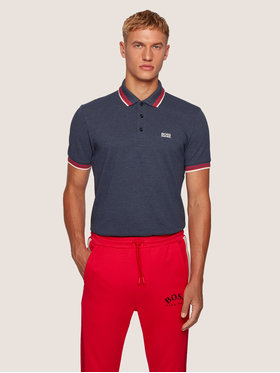Boss Boss Polo Paddy 50398302 Grigio Regular Fit