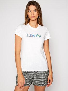 Levi's® Levi's® T-Shirt The Perfect 17369-1433 Bílá Regular Fit
