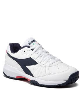 Diadora Diadora Pantofi S.Challenge 3 Sl Clay 101.177609 01 C1494 Alb