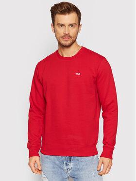 Tommy Jeans Tommy Jeans Bluza Fleece DM0DM09591 Czerwony Regular Fit