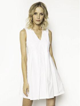 Manila Grace Manila Grace Kasdieninė suknelė A563CU Balta Regular Fit
