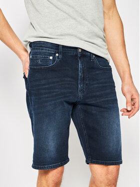 Calvin Klein Jeans Calvin Klein Jeans Дънкови шорти J30J314648 Тъмносин Slim Fit