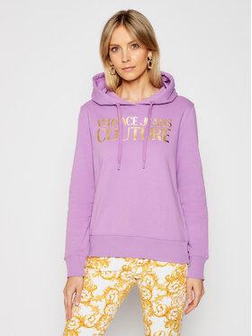 Versace Jeans Couture Versace Jeans Couture Суитшърт B6HWA7TP Виолетов Regular Fit