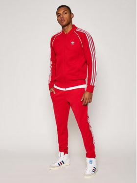 adidas adidas Παντελόνι φόρμας Sst Tp P GF0208 Κόκκινο Slim Fit