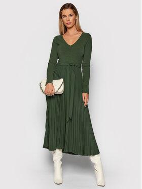 Guess Guess Ежедневна рокля Erynn W1BK46 WE6D0 Зелен Regular Fit