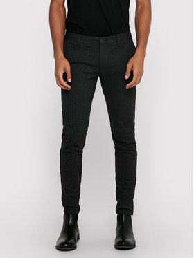 Only & Sons ONLY & SONS Pantaloni di tessuto Mark 22013727 Grigio Slim Fit