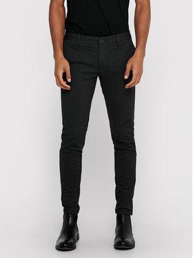 Only & Sons ONLY & SONS Spodnie materiałowe Mark 22013727 Szary Slim Fit
