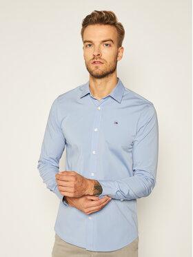 Tommy Jeans Tommy Jeans Košile DM0DM04405 Modrá Slim Fit