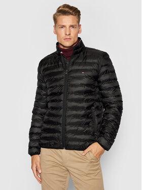 Tommy Hilfiger Tommy Hilfiger Pernata jakna Core Circular MW0MW18763 Crna Regular Fit