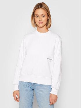Calvin Klein Jeans Calvin Klein Jeans Bluza J20J216235 Biały Relaxed Fit