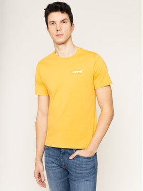 Levi's® Levi's® Тишърт Housemark Graphic Tee 22489-0261 Жълт Regular Fit