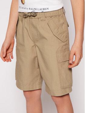 Polo Ralph Lauren Polo Ralph Lauren Pantalon scurți din material Cargo 323785699 Maro Regular Fit