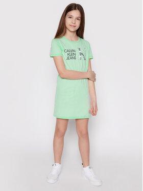 Calvin Klein Jeans Calvin Klein Jeans T-Shirt Monogram Logo IG0IG00913 Rosa Regular Fit