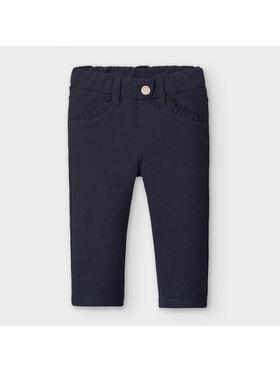 Mayoral Mayoral Spodnie materiałowe 560 Granatowy Super Skinny Fit