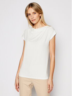 Weekend Max Mara Weekend Max Mara Блуза Multid 59410211 Бял Regular Fit