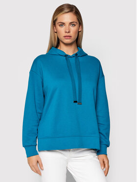 United Colors Of Benetton United Colors Of Benetton Mikina 3QMHE2283 Modrá Boxy Fit