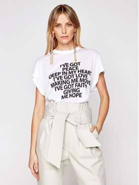 IRO IRO T-Shirt Ivegot A0828 Weiß Regular Fit