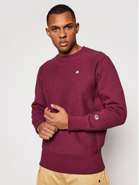 Champion Champion Sweatshirt 214676 Dunkelrot Custom Fit