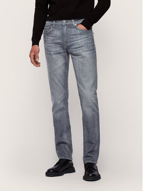 Boss Boss Jeans Slim Fit Delaware3-1 50437915 Grigio Slim Fit