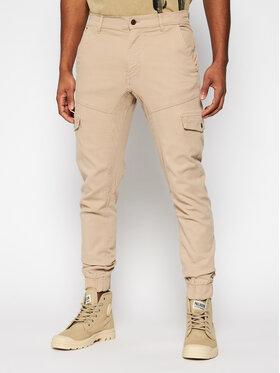 Guess Guess Jogger kelnės New Kombat M1RB17 WDP31 Smėlio Slim Fit