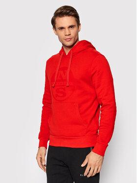 North Sails North Sails Sweatshirt Fleece 691623 Rot Regular Fit