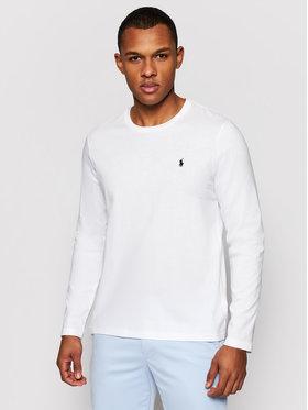 Polo Ralph Lauren Polo Ralph Lauren Тениска с дълъг ръкав 714706746 Бял Regular Fit