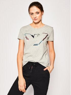 Emporio Armani Emporio Armani T-Shirt 3H2T6C 2JQAZ 0616 Szary Regular Fit