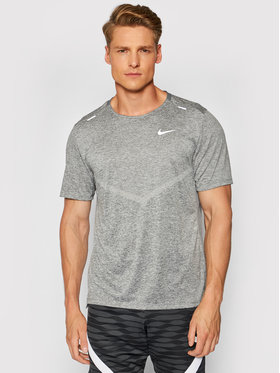 Nike Nike Techniniai marškinėliai Dri-Fit Rise CZ9184 Pilka Standard Fit