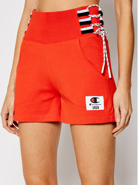 Champion Champion Sportshorts Lace Up Side Sweat 112896 Orange Custom Fit