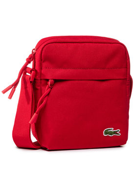 Lacoste Lacoste Ľadvinka Vertical Camera Bag NH2102NE Červená