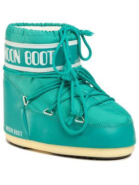 Moon Boot Moon Boot Śniegowce Classic Low 2 14093400005 Zielony