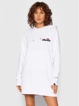 Ellesse Ellesse Φόρεμα υφασμάτινο Honey SGK13289 Λευκό Relaxed Fit