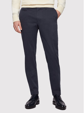 Boss Boss Kalhoty z materiálu Broad1-W 50447070 Tmavomodrá Slim Fit