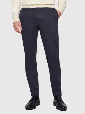 Boss Boss Pantaloni di tessuto Broad1-W 50447070 Blu scuro Slim Fit