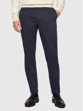 Boss Boss Текстилни панталони Broad1-W 50447070 Тъмносин Slim Fit
