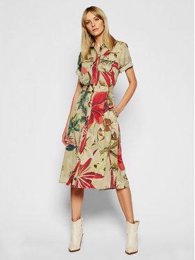Desigual Desigual Marškinių tipo suknelė Kate 21SWVN05 Smėlio Regular Fit