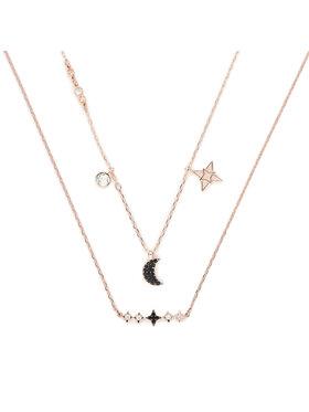 Swarovski Swarovski Schmuckset 2 Halsketten Necklace Moon Set 5273290 Goldfarben