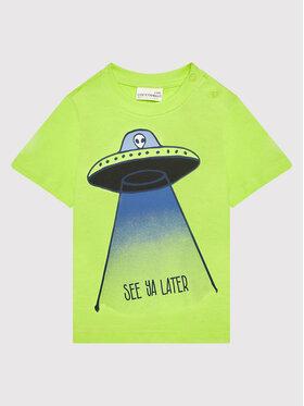 Coccodrillo Coccodrillo T-shirt ZC1143227EVB Vert Regular Fit