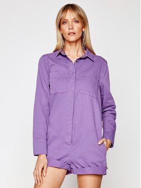 One Teaspoon One Teaspoon Overall Prophecy Jsuit 23693 Violett Relaxed Fit