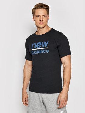 New Balance New Balance Póló Split MT11905 Fekete Regular Fit